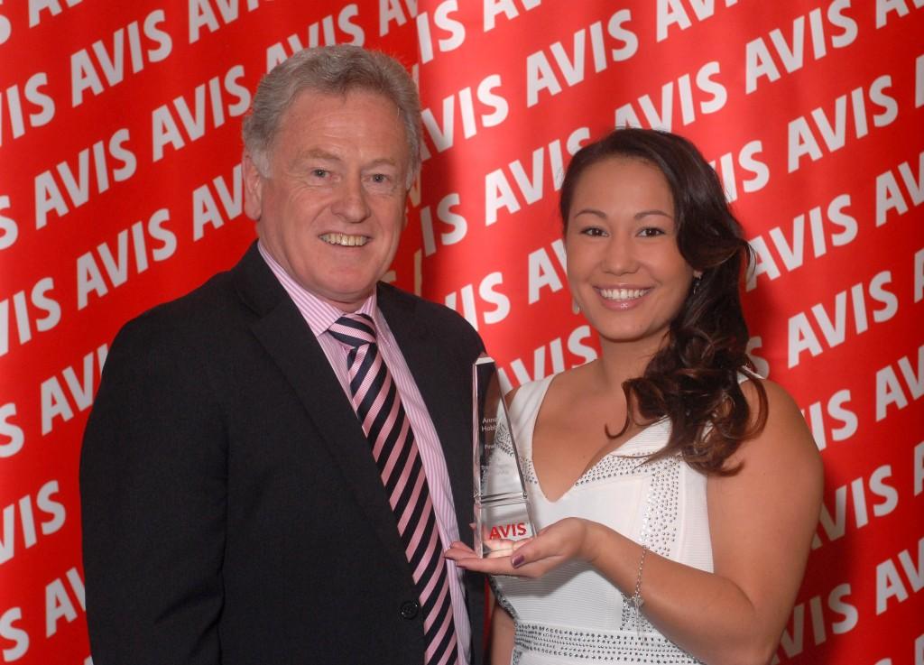 2013 Winner Anne Hobbs & Russell Butler